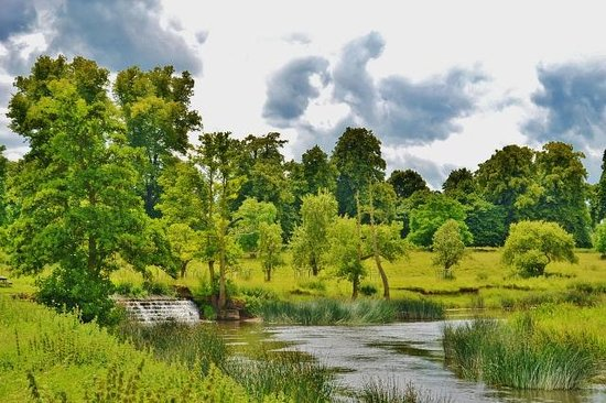 Charlecote Park: River view