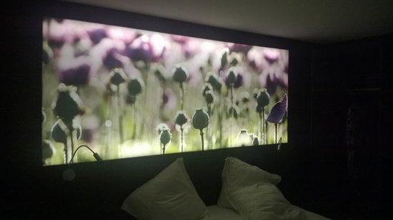 "Flanders Hotel: ""Club"" room ambient lit wall art!"