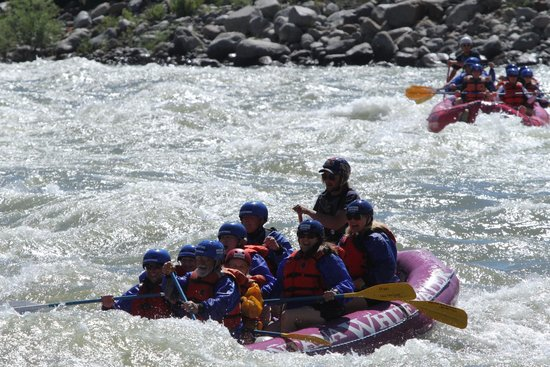 Montana Whitewater Rafting and Zipline on the Yellowstone River: On the Yellowstone River