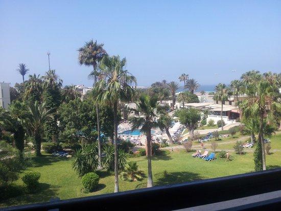 Atlas Almohades Agadir: notre vue de la chambre, 15 jours juste parfait *-* <3