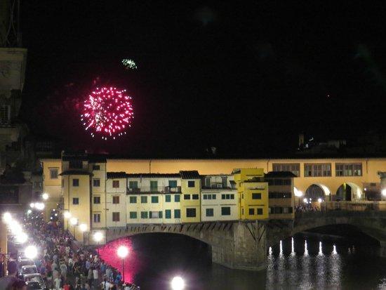 Hotel Berchielli: Fireworks