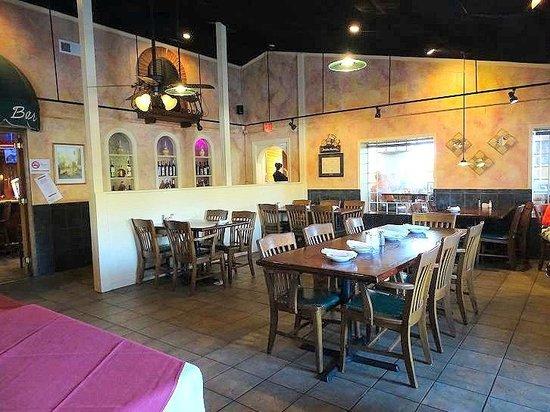 Sal S Italian Restaurant Front Dining Area