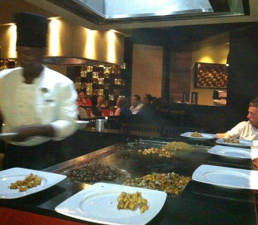 Royalton Punta Cana Resort & Casino: Japanese Resturant