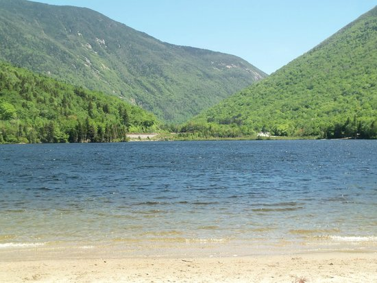 Franconia, NH: Echo Lake Beach NH Beautiful!