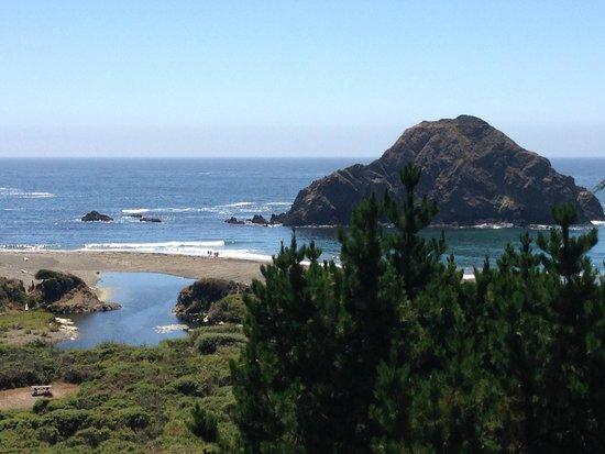 The Elk Cove Inn & Spa : Our view
