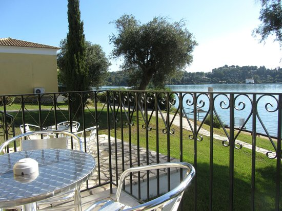 Louis Corcyra Beach Hotel: Utsikt från rum 227