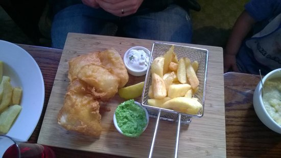 An Sugan : Cod and chips