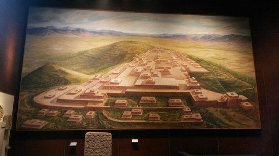 National Museum of Anthropology (Museo Nacional de Antropologia): Monte Albán