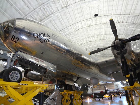 Smithsonian National Air and Space Museum Steven F. Udvar-Hazy Center: Anola Gay