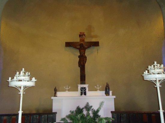 Estancia La Candelaria: Altar de la capilla