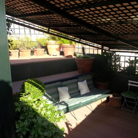 Residenza Napoleone III: La terrasse