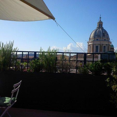 Residenza Napoleone III : La terrasse