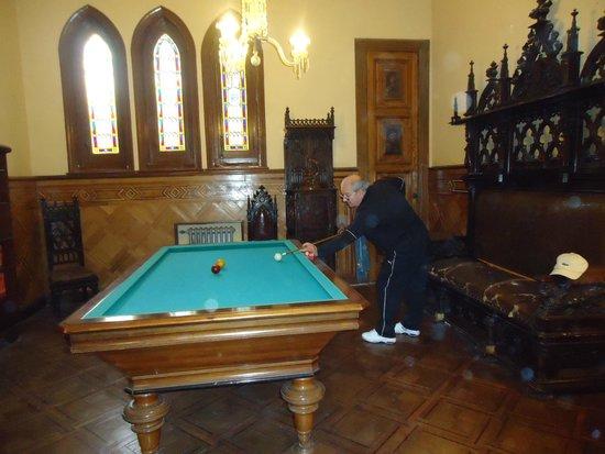 Estancia La Candelaria: Interior del Castillo