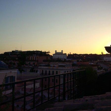 Residenza Napoleone III : Vue de la terrasse