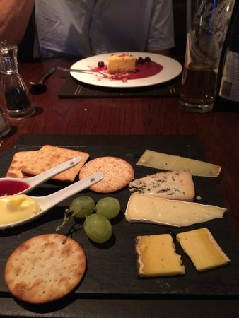 Barnham Broom: cheese board ( lack of )