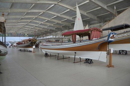 Museu da Marinha : Galerie des navires
