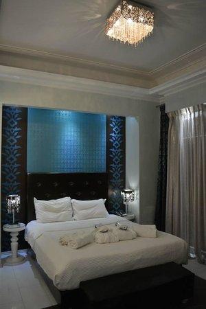 Athens Diamond Homtel: Unser schönes Zimmer