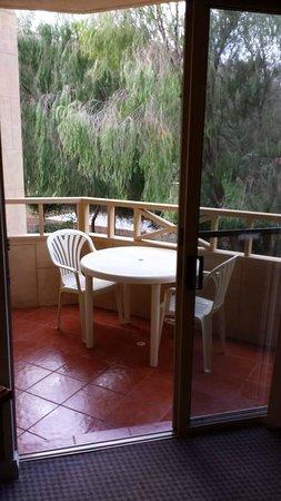 Abbey Beach Resort: Balcony