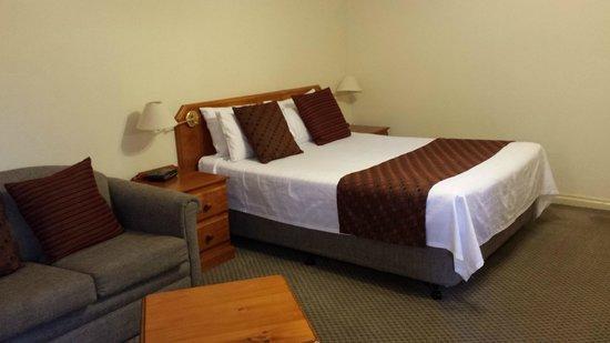 Abbey Beach Resort: Bed