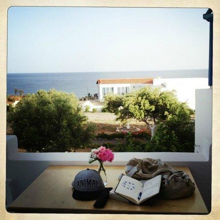 Fata Morgana Studios & Apartments: view from balcony