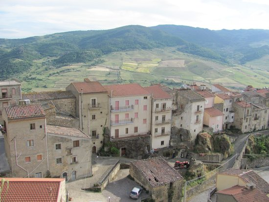 Castello di Lombardia (Enna): view from the roof