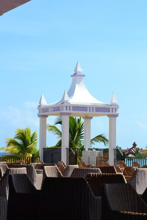 Hotel Riu Montego Bay: Wedding pavilion at the Riu