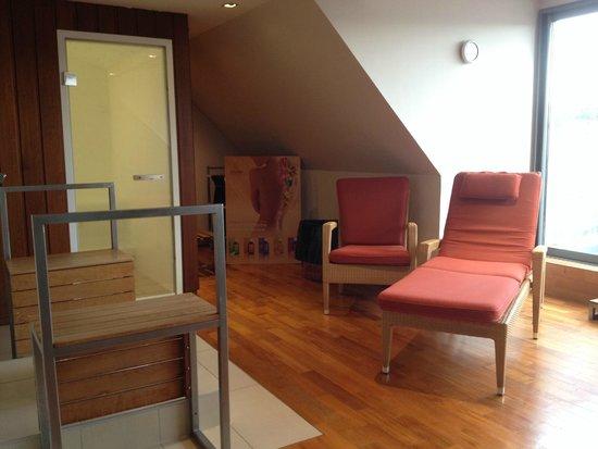 BEST WESTERN Grand Hotel Bristol : hamam cabin & relax zone