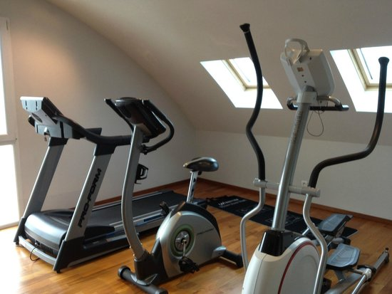 Best Western Grand Hôtel Bristol : gym