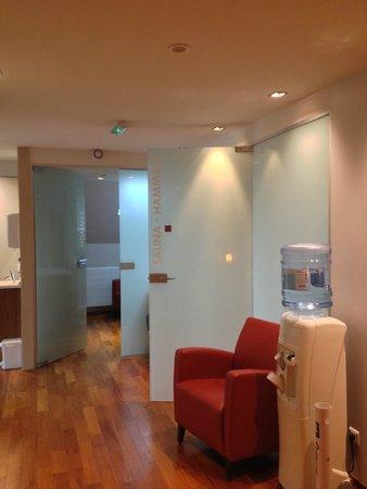 Best Western Grand Hôtel Bristol : spa entry