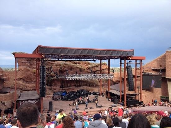 Red Rocks Park and Amphitheatre: what a View!