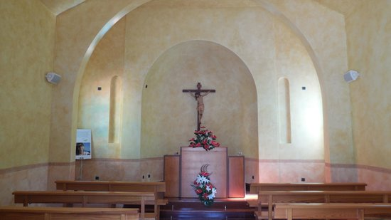Cordial Mogan Playa: Inside of chapel