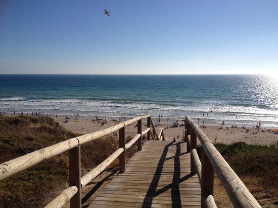 ClubHotel Riu Chiclana: Acceso playa desde el hotel