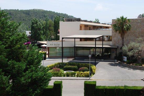 Aparthotel Duva & Spa: Hotel Duva