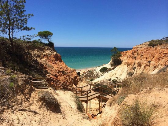 EPIC SANA Algarve Hotel: The top of the walk down to the beach
