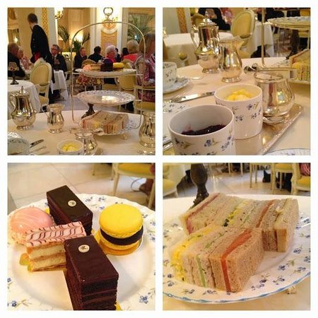 The Ritz London: High tea