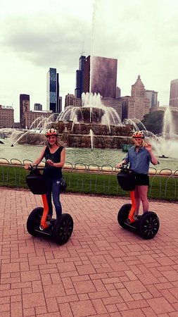 Absolutely Chicago Segway Tours : Segway Ninjas...or not :)