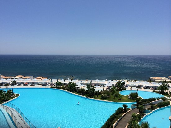 Atrium Prestige Thalasso Spa Resort and Villas: Blick von der Hotelhalle