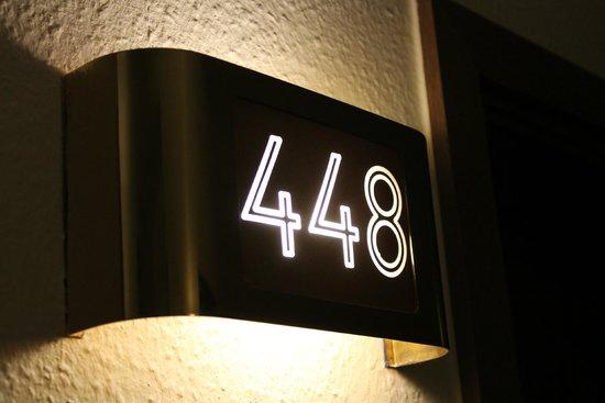 Hotel Bellevue: Zimmereingang