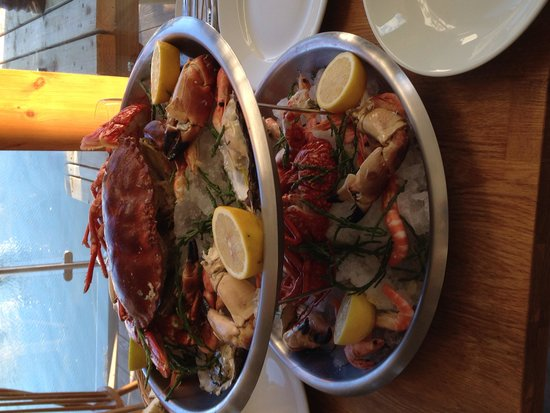 The Crab Shed: Our amazing Fruits de Mer