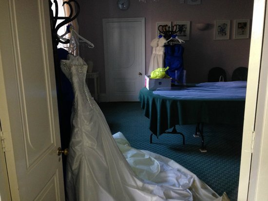 Statham Lodge Country House Hotel: Dressing room