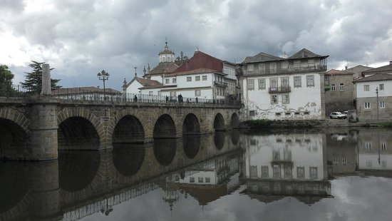 Hotel Casino Chaves : The roman bridge in Chaves 02/07/14