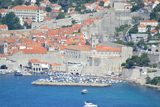 Valamar Argosy Hotel : Dubrovnik from the road to the airport