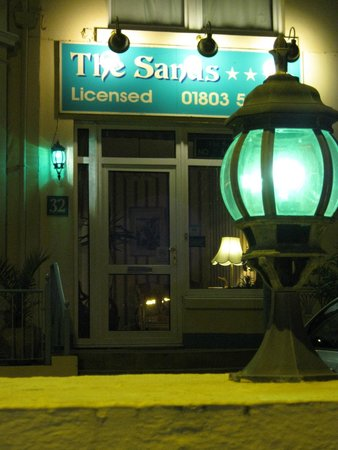 The Sands Hotel: The Sands at night