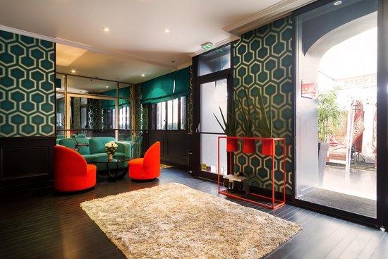 Hotel Monceau Elysees : Lobby