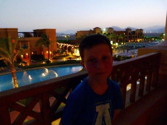 Sea Club Aqua Park : sunset from our balcony