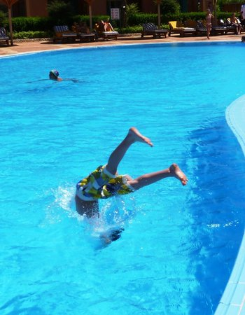 Sea Club Aqua Park : adult pool area