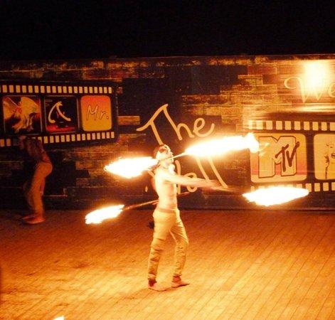 Sea Club Aqua Park : fire eater entertainement was great