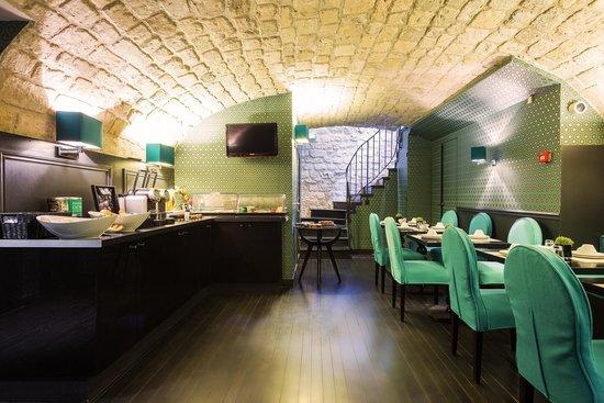 Hotel Monceau Elysees : Salle de petit déjeuner