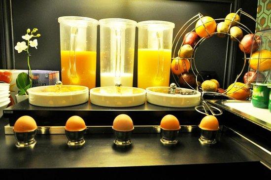 Hotel Monceau Elysees : Petit déjeuner