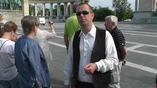 Place des Héros : Hjältarnas torg Budapest